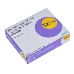 100mg Sildenafil tablets